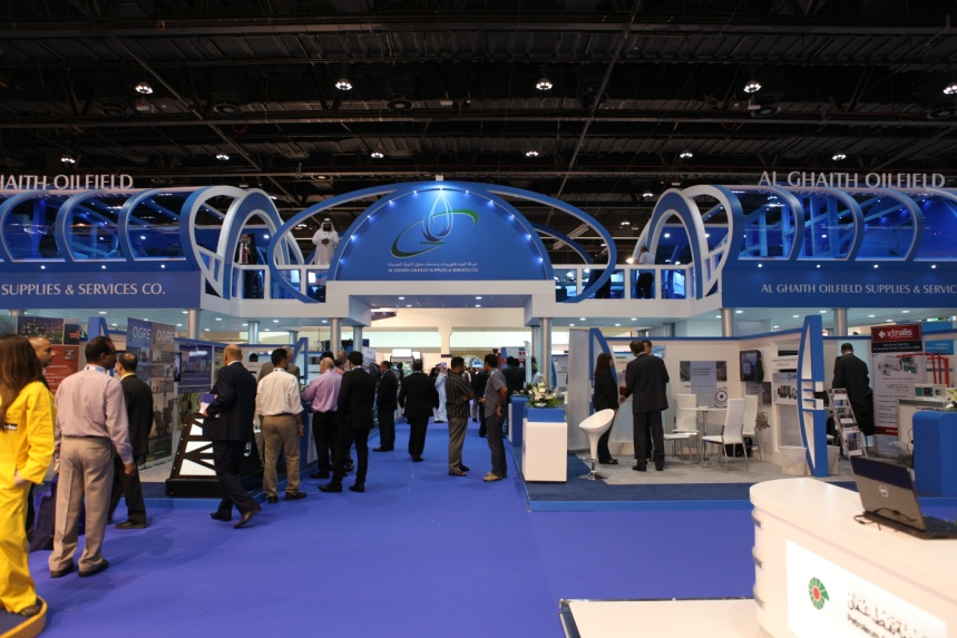 威能再次参展2013中东国际石油博览会